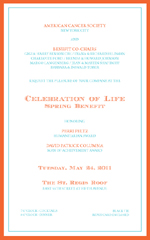 American Cancer Society, Celebration of Life Spring Benefit