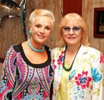Portrait of a Woman Honorary Chairs Etonella Christlieb  and Monica Erickson.Photo by Corby Kaye�s Studio Palm Beach