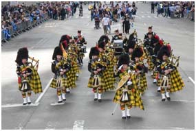 The 15th Annual Tartan Day Parade