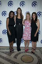 Lori Stokes, Stephanie Winston Wolkoff, Abbey Braverman,Roxanne Palin. Photo by:  © Patrick McMullan