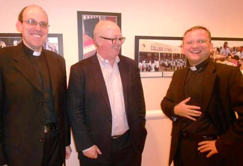 Monsignor Joseph Grech Second Counsellor, Permanent Observer Mission of the Holy See to the United Nations, Mathew Bishop, New York Bureau Chief, Chief Business Writer, The Economist, Monsignor Janussz Urbanczyk, First Counsellor, Permanent Observer Mission of the Holy See to the United Nation