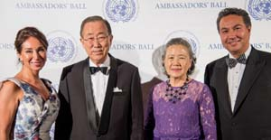 ambassaadors ball, United Nations, NYC.