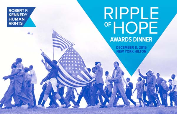 Robert F. Kennedy Human Rights Ripple of Hope Gala