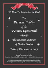 60th Annual Viennese Opera Ball