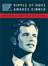 Robert F. Kennedy Human Rights Ripple of Hope Awards