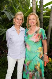 Co-chairmen: Nellie Benoit and Joanie Van der Grift.  Photo by:  Capehart Photography
