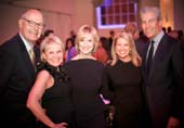 Co-Chairs Tina and Terry Lundgren with special guest JoJo Starbuck and presenters Andrea Joyce and Harry Smith at a previous Figure Skating in Harlem gala