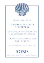 Mad Hatter's 2018 The Reveal