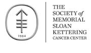The Society of Memorial Sloan Kettering