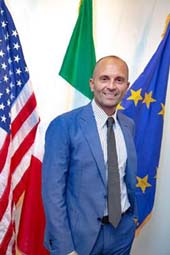 The Honorable Consul General, Cristiano Musillo