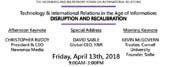 NYU Rennert Forum: Technology and International Relations Disruption and Recalibration