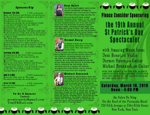 The St. Patrick's Day Spectacular X1X