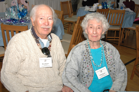 The late Boris Rueger with his wife Edith Rueger of