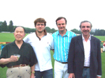 Gerard Mc Keon and firends at Greenwich polo