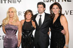 Donatella Versace, Liz Swig, Patrick Dempsey, Allison Kanders, Whitney Gala  and Studio Party