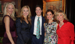 Kathleen Ryan, Pastors Victoria and Joel Osteen, Jean Shafiroff, Sharon Bush