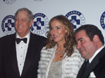 David H. Koch, Corporate Dinner Chair, Julia Koch, Benefit Dinner Chair and Emeril Lagasse, Recipient of The FAI Lifetime Achievement Award