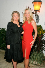 Kathryn Vecellio and 2010 Heart Ball Chairman Petra Levin