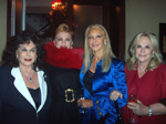 Tova Leidesdorf, Georgette Mosbacher, Barbara Winston and Charlene Haroche, Luncheon-Chair
