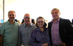 Alex von Bidder, Ambassador Carl Spielvogel, Barbara Lee Diamondstein Spielvogel and Julian Niccolini