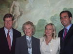 Congressman Patrick J. Kennedy, Glenn Close, Lee Woodruff, Bob Woodruff