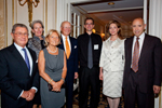 Alberto Vitale, Gioietta Vitale, Ann Johnson, Tom Johnson, Nathan Collett, HM Queen Noor, Tom Russo