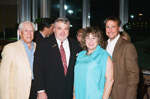 Men's Committee Chairmen Ron Warner and Joe Gallagher with Toshiba Business Solutions Christine Pitts and Mike Ruthmeyer