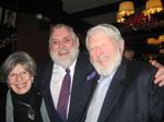 Mrs. Theodore Bikel, Jim Brochu and Theodore Bikel