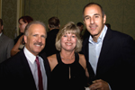 GREG AND JILL LEACH WITH MATT LAUER