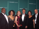 Marty Ellington, Jr., MD, Virgie Ellington, MD, (Benefit  Vice Chairs) Dr. & Mrs. Armando Grassi ( Honoree) ,