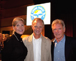 Angela Thompson, Jim Thompson, Harrison Ford