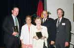 Awardees Mr. Pat Rooney, Jr., Co-Chair Beatrice McCoy, Awardees Mrs. Mary Helen Keim, Area Commander, Major Thomas McWilliams, Event Chairman, Mr. David Ackerman