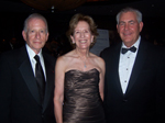 Allan & Collette Goodman, and  Rex Tillerson, CEO, ExxonMobil,