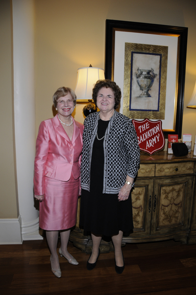 The Salvation Army Women's Auxiliary Event Co-Chairs Claire Cross and Nan Gallagher