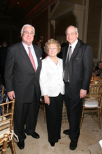 2010 Gala Honoree Jacqueline Goldman with her sons,