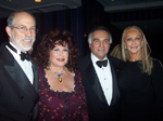 "Frank J. Gaffney, Jr. Mrs. Tova Leidesdorf, Recipient of the ""International Brotherhood Award"", Tony LoBianca and"