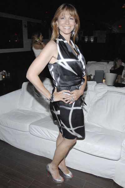 Jill Zarin, wearing earrings and a bracelet by Turkish jeweler Gilan, hosted the Hamptons Social Series Event