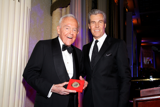 Henry T. Segerstrom Receives Carnegie Hall's 2010 Medal of Excellence from 2008 Medal of Excellence Honoree Terry J. Lundgren