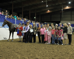 Pin Oak Ponies Show Their True Colors...and it was all PINK!