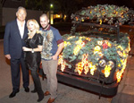 Charles Ward, Carolyn Farb, Artist Paul Horn and The Cabernet Car