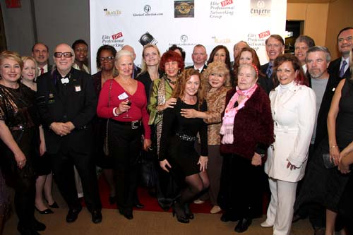 elite professional networking group holiday reception