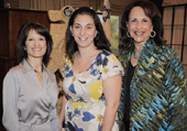 Dale Pratt, Luncheon Co-chair; Nancy Lublin, Guest Speaker; Judi Schuman, Luncheon Co-chair
