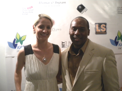 Kristin Thomas, Chris Foye