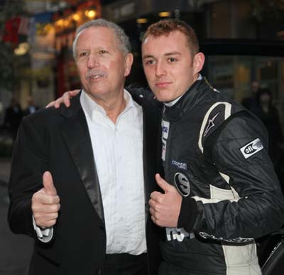 Nick Alessi , President who build and design the AR-1Supercar & Indy Race Car Driver Luca Forgeois