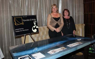 Tavola D' Arte Tables on the Move with Gwen Kunkel and Nancy Duff