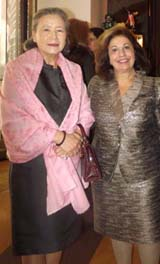 Mrs. Ban Soon-taek, Crown Princess Katherine of Serbia .  Photo by:  Joyce Brooks