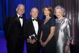 "Dr. Steven J. Corwin, Maurice R. ""Hank"" Greenberg,  Dr. Laurie Glimcher, Charlotte Ford. Photo by: Janet Charles"