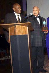Harry Belafonte, David Dinkins