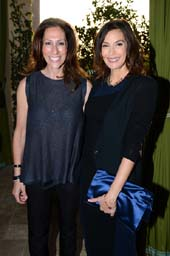 Regina Miller (Geffen Playhouse Chief Development Officer) and actress Teri Hatcher..  Photo by:  Jordan Strauss/Invision for Geffen Playhouse