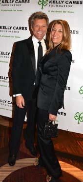 Jon Bon Jovi and his wife Dorothea .  Photo by:  Rose Billings/Blacktiemagazine.com